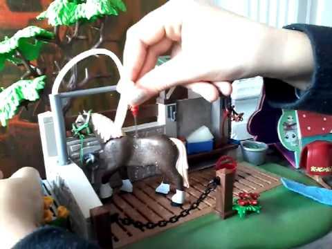 La douche playmobil chevaux youtube - Douche pour chevaux playmobil ...