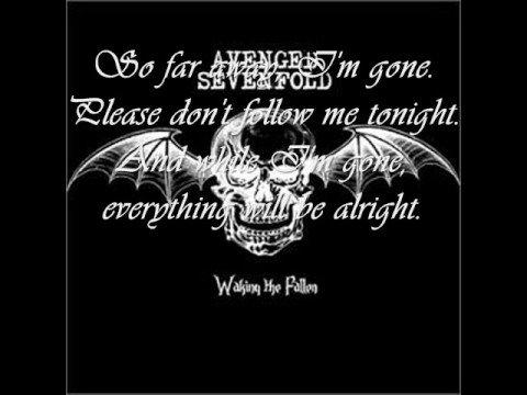 Avenged Sevenfold - I Won't See You Tonight Part 2 Lyrics ...