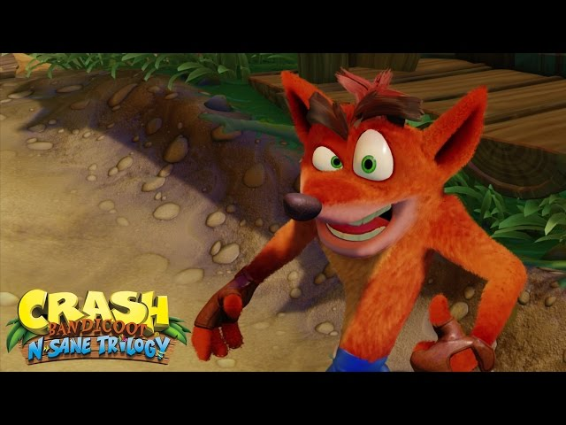 Crash Bandicoot: N Sane Trilogy (видео)