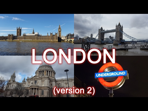 My Trip to London | January 2017 | Andy Hartley