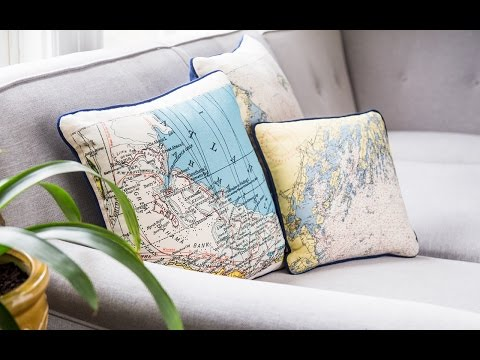 Not for Navigation | Custom Nautical Pillow