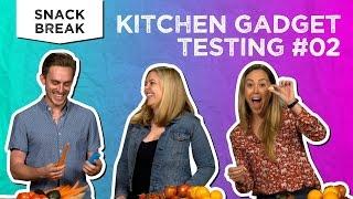 Kitchen Gadget Testing #2 | Snack Break - Tastemade Staff