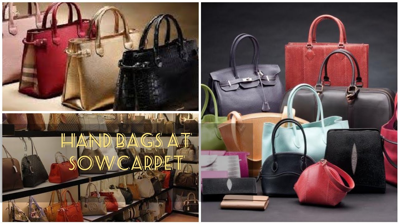 Handbags At Sowcarpet Where To Get Good Quality Of Hand Bags