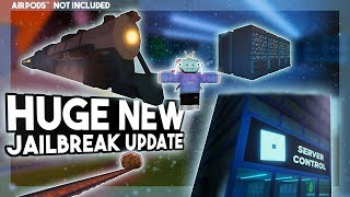 New Jailbreak Train Update!, New Train, Battle Royale, Server Control, Map Update