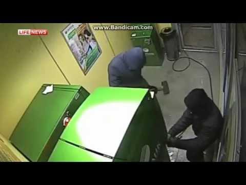 ограбление банкомата сбербанк