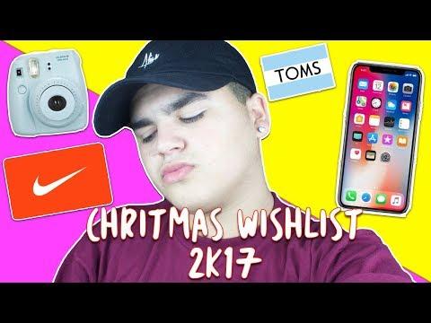 CHRISTMAS WISHLIST 2K17 | IPHONE X | TRIPOD | NEW MACBOOK ECT. 🎄💞