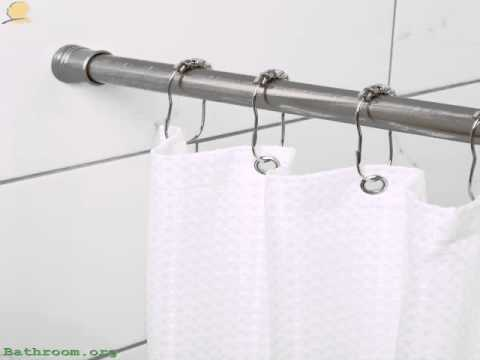 Tension Shower Curtain Rod Brushed Nickel Review 2015