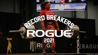 2021 Rogue Record Breakers Qualifier   Event 7 - Women's Elephant Bar Deadlift