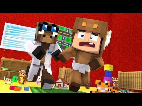 MINECRAFT DAYCARE - MOOSECRAFT VS JEFF THE MOOSE !! (Minecraft Roleplay)