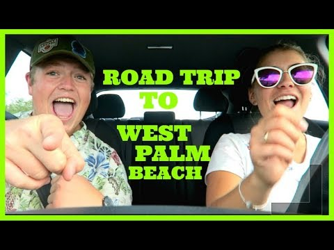 ROAD TRIP TO WEST PALM BEACH | Disney CRP Vlog 2017-18