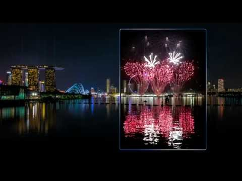 F1 Singapore 2016 Fireworks