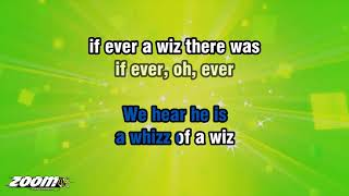 The Wizard Of Oz - We're Off To See The Wizard - Karaoke Version from Zoom Karaoke