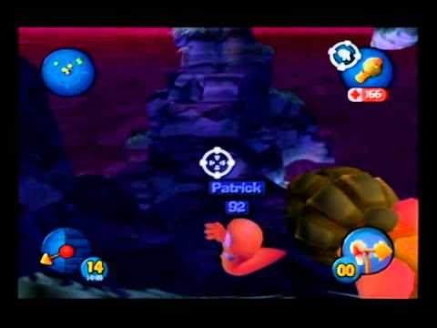 Worms 3D (Gamecube) (4-player; with Joe, 2CPU) (8/27/10 ...