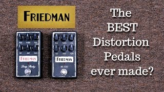 FRIEDMAN BE-OD vs DIRTY SHIRLEY OVERDRIVE PEDALS: How Much of a Difference?
