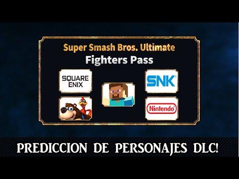 MI PREDICCIÓN A LOS 5 PELEADORES DLC!!! | SUPER SMASH BROS ULTIMATE thumbnail