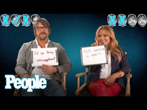 Stars Can Be Weird, Too! Zachary Knighton and Becki Newton Reveal Their Quirks  People