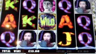 Curse Of Frankenstein Fruit Machine By Barcrest - £500 Jackpot B3 Slot