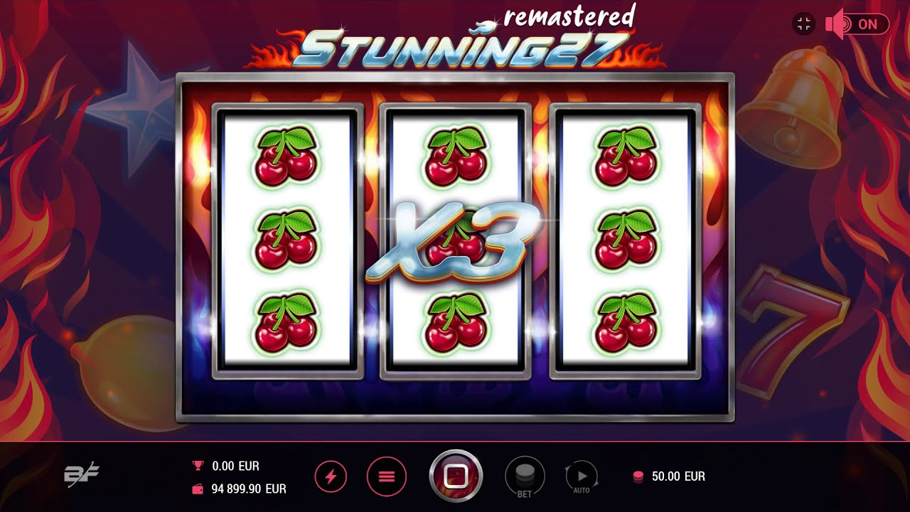 Stunning 27 Remastered  Slot Play Free ▷ RTP 96% & High Volatility video preview