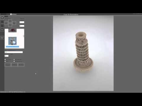 CRUSE Spezialmaschinen GmbH: 3D Photostation - englisch version -
