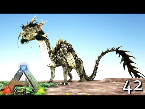 DRAGON KING RYU GOD OF THE WATERS !!! ARK: SURVIVAL EVOLVED GENOMES MEGA MONSTER MODDED E42