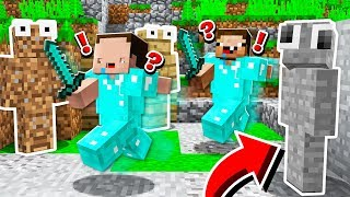 THEY NEVER SAW ME.. (MINECRAFT CAMO TROLLING!)