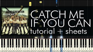 Catch Me If You Can - Piano Tutorial - How to Play - Girls