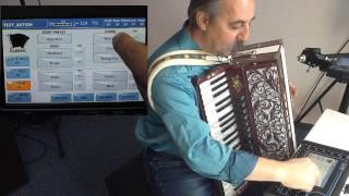 Ketron SD40 und MIDI Akkordeon Swiss edition tuning Demo