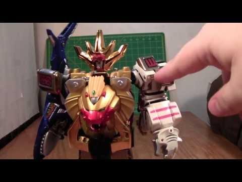 Power Rangers Wild Force Megazord Review (Hyakujuu Sentai Gaoranger Gao King)
