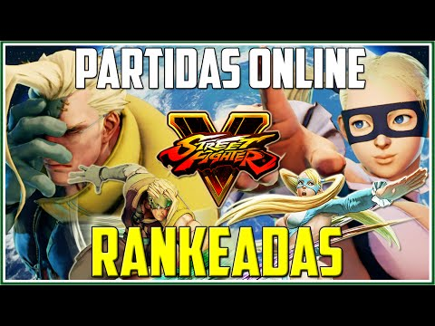 NASH DANDO TRABALHO | Street Fighter 5: Partidas Online (Rankeadas)