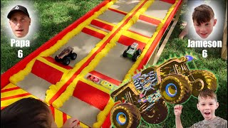 Toy Hot Wheels Monster Truck Racing : DIY Monster Jam