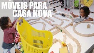 COMPRAS PARA CASA NOVA: DIARIO DA REFORMA #5 | RÊ ANDRADE Daily Vlog Familia