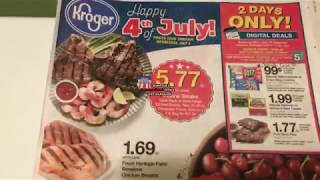 Kroger Weekly Ad Couponing Matchup- 6/27/18-7/4/18- *HOT* Digital Coupon Deals!