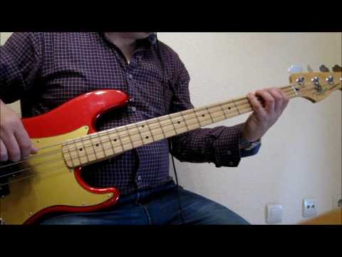 Eagles - Hertache Tonight Bass Cover