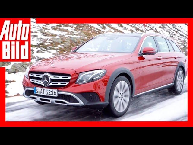 Mercedes Benz E Klasse All Terrain Review Testdrive Offroad Exterieur Interieur