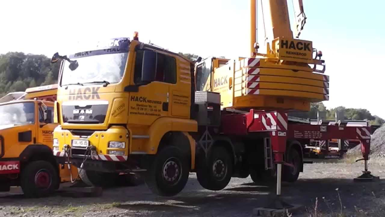 Lkw Kran Man Tgs 41.480 Lkw-kran In Hd - Youtube