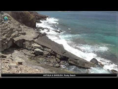 Antigua and Barbuda Rocky Beach