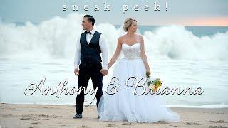 Anthony + Brianna Wedding Preview at Salt Creek Beach