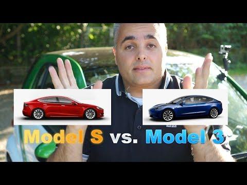 Tesla Model 3 Besteller sollten jetzt ihre Reservierung stornieren - Model 3 vs. Model S