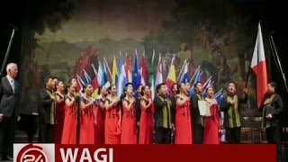 24 Oras: Philippine Madrigal Singers, wagi sa 64th Int'l Choral Competition sa Italy