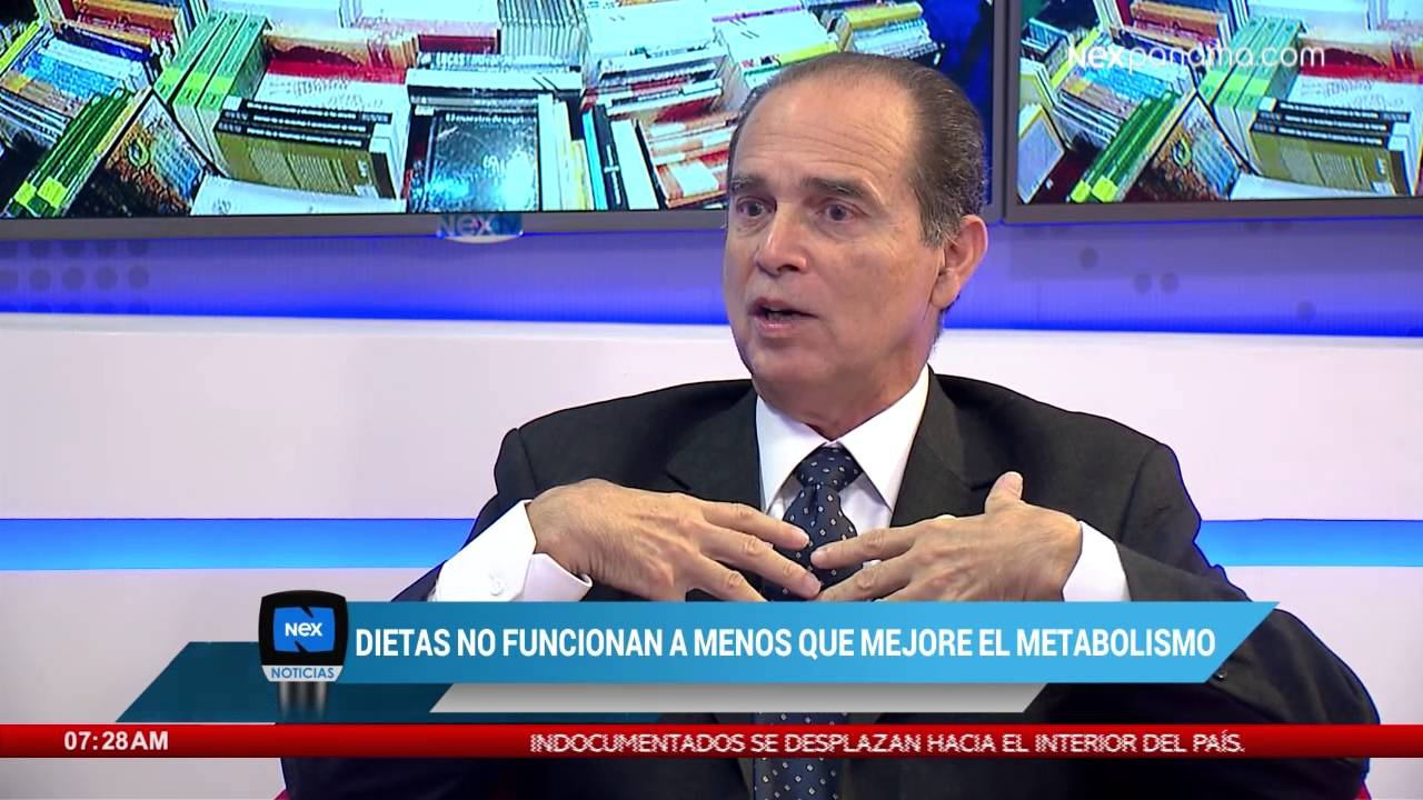 Escritor Frank Suárez: ''las dietas no funcionan si las personas no mejoran su metabolismo