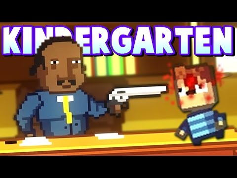 CRAZY PRINCIPAL SHOOTS STUDENT! -  Obtaining A Hall Pass! - Kindergarten Gameplay