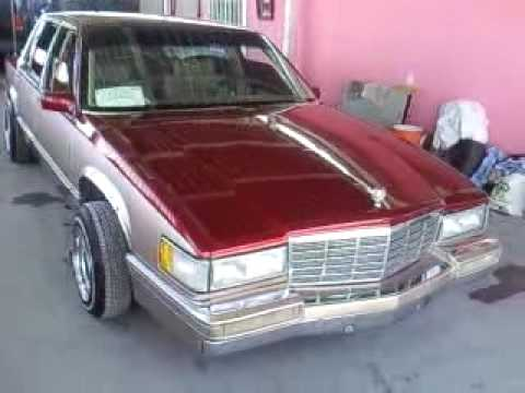 cadillac sedan deville 93 lowrider youtube. Black Bedroom Furniture Sets. Home Design Ideas