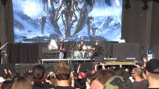 Trivium - Brave This Storm FIRST TIME LIVE