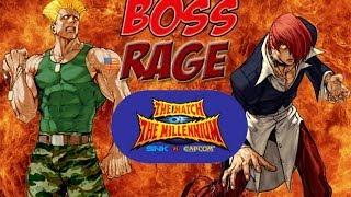 mini-BOSS RAGE! Feat. Blood Iori (SNK vs Capcom: Match of the Millennium)