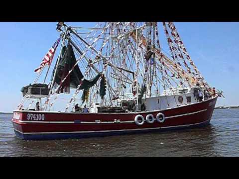 "The ""Miss Alena"" Shrimp Boat,Isle of Eight Flags Shrimp Festival, Fernandina Beach, Florida"