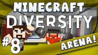 Minecraft Diversity #8 Get To The Ladder! (Arena)