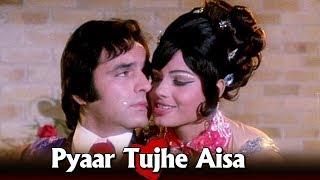 Pyaar Tujhe Aisa - Bollywood Item Number   Asha Bhosle Hit Songs   Kashmakash