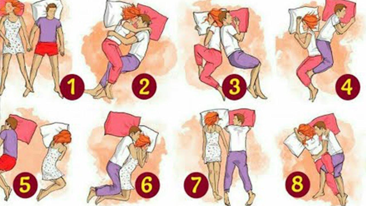 Paar bedeutung schlafpositionen Was die