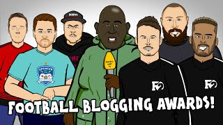 🏆The Football Blogging Awards 2019🏆 (Feat The F2, True Geordie, AFTV, Redmen TV, Mark Goldbridge!)