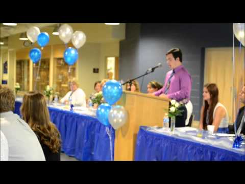 Riley Hart Junior Speech at 2014 Senior Breakfast